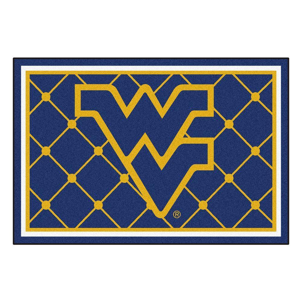 West Virginia University 5 ft. x 8 ft. Area Rug