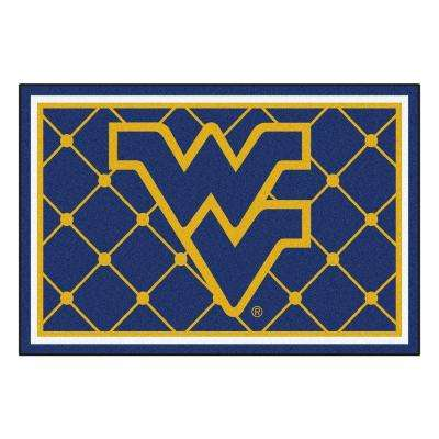 West Virginia University 5 ft. x 8 ft. Area Rug