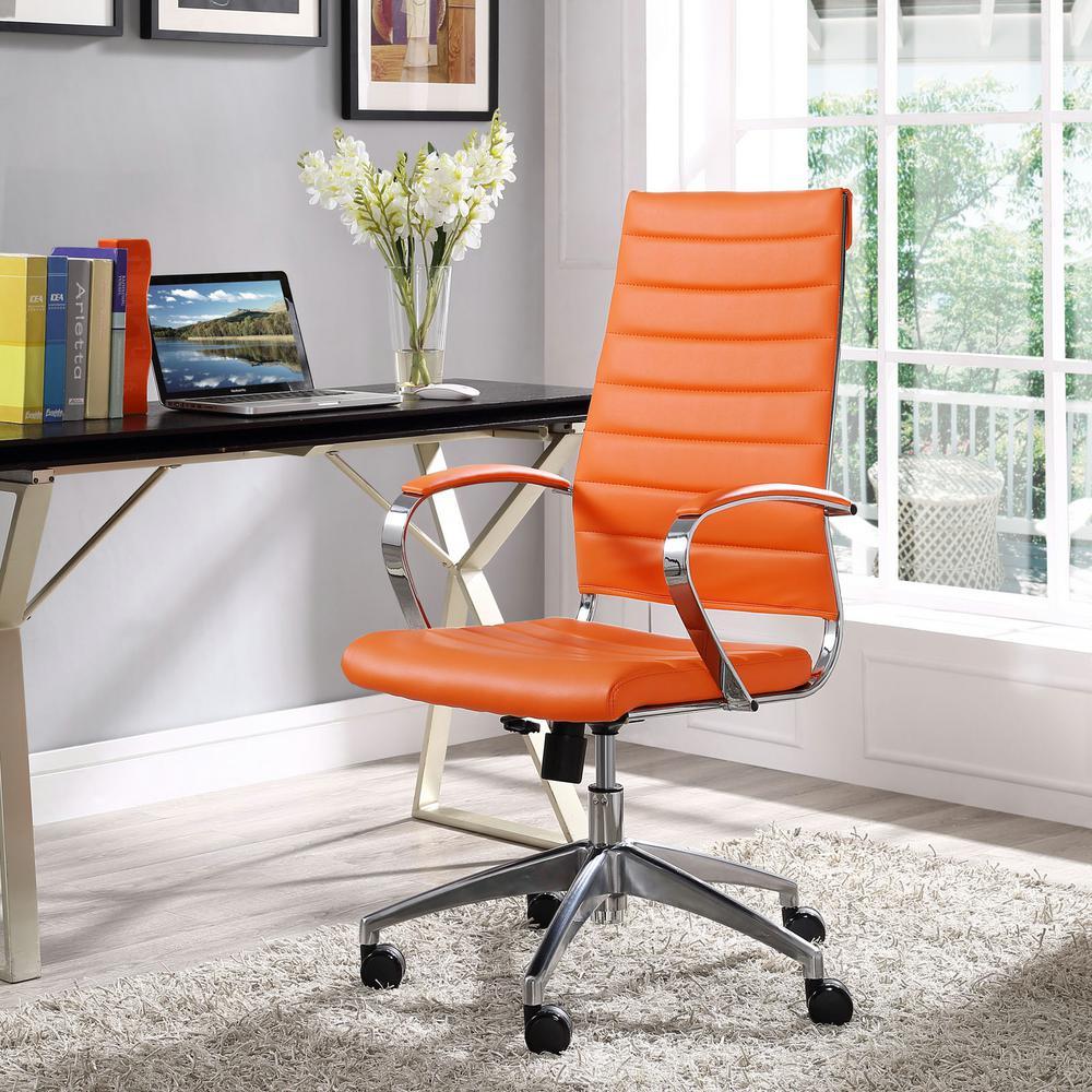 Jive Highback Office Chair in Orange