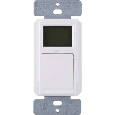 7-Day Programmable Indoor/Outdoor In-Wall Digital Timer