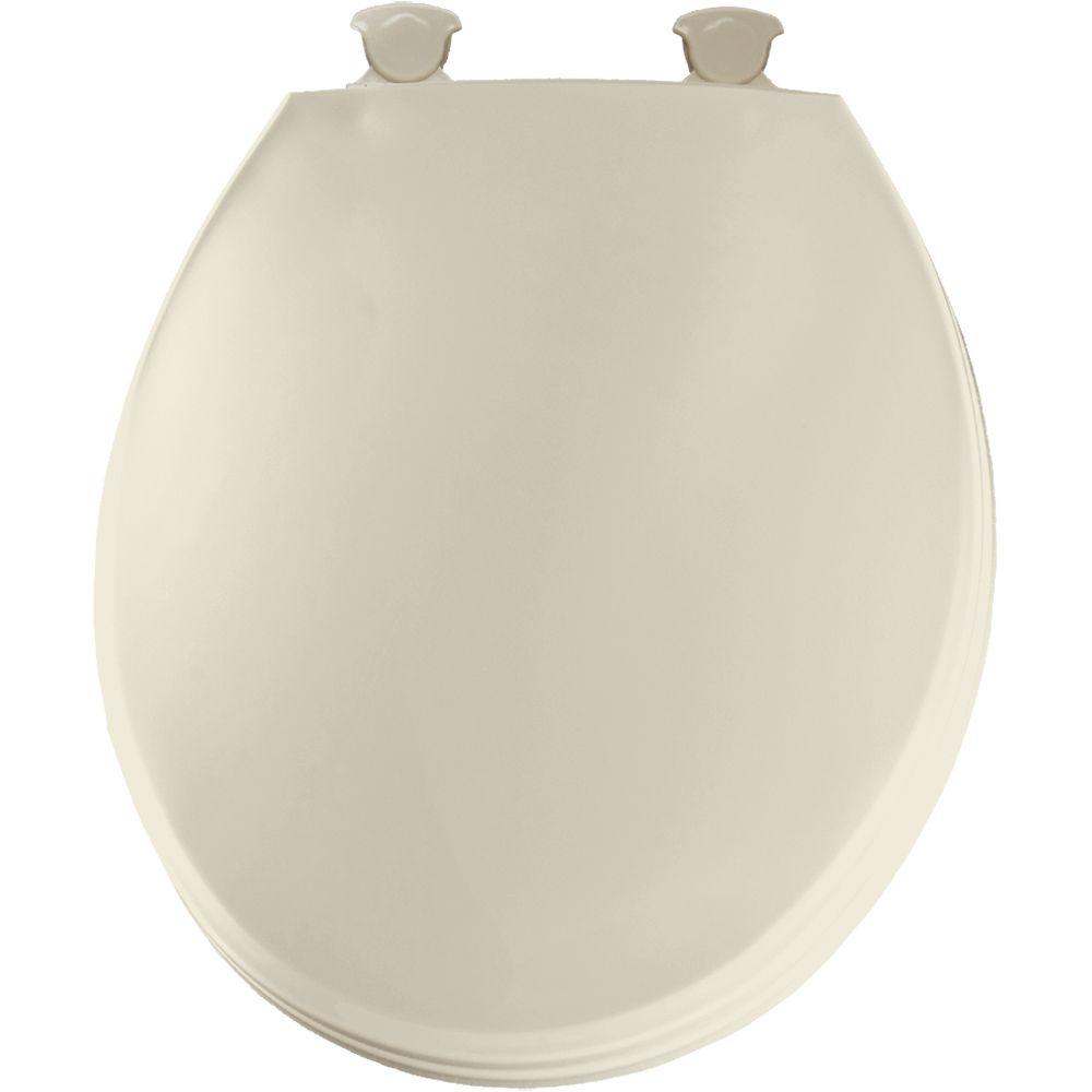 Church Round Closed Front Toilet Seat In Bone 3ec 006