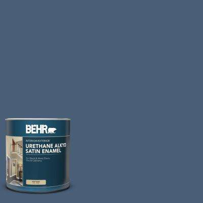 1 qt. #BIC-52 Loyalty Satin Enamel Urethane Alkyd Interior/Exterior Paint