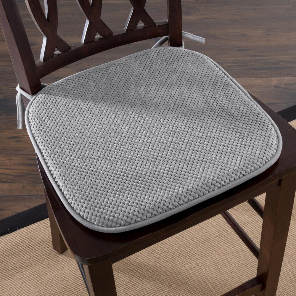 Charmant Platinum Memory Foam Chair Pad
