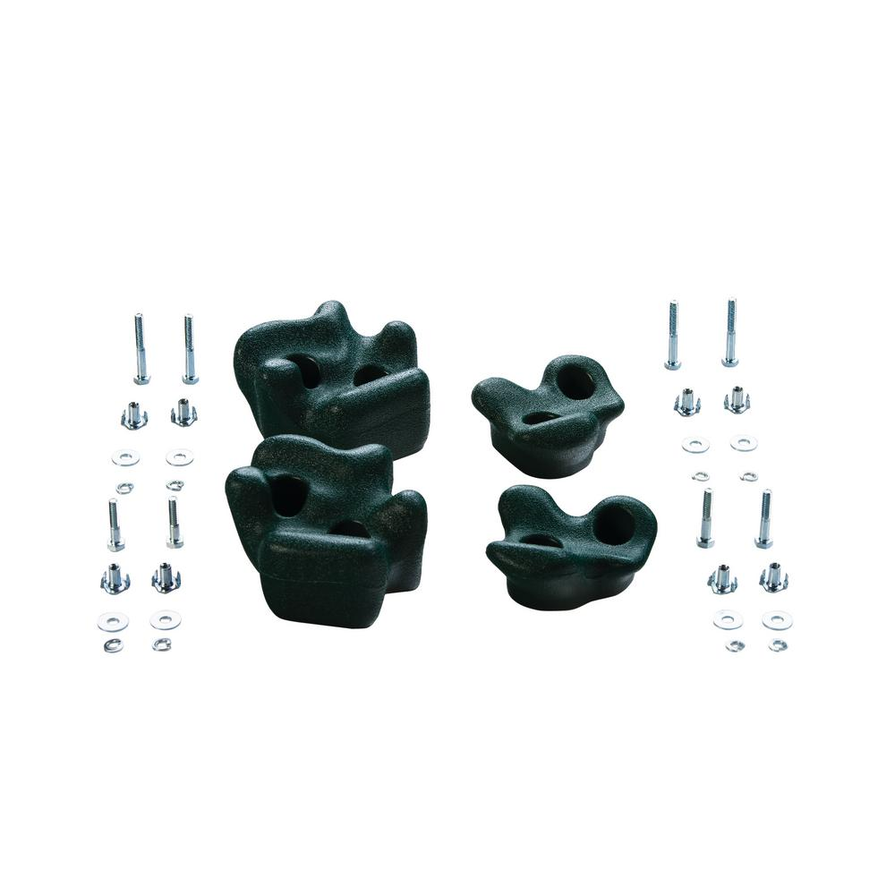 Climbing Rocks (4 Pack) - Green