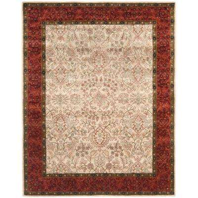 Persian Legend Ivory/Rust 8 ft. x 10 ft. Area Rug