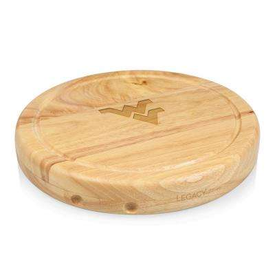 West Virginia Mountaineers Circo Wood Cheese Board Set with Tools