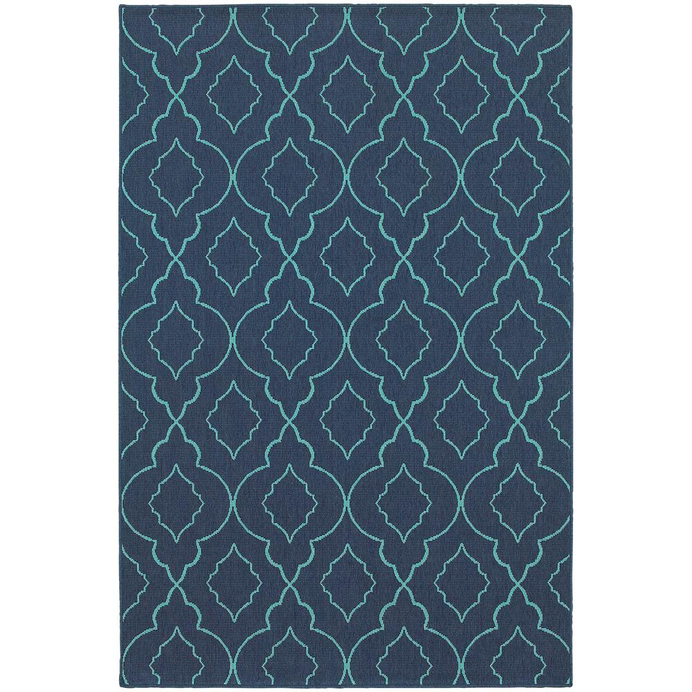 Home Decorators Collection Phantom Navy 5 Ft. X 8 Ft. Indoor/Outdoor Area