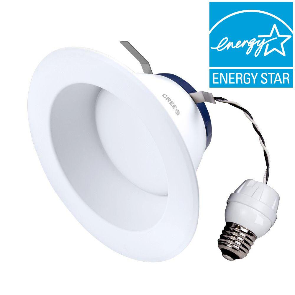 Cree TW Series 85W Equivalent Soft White 6 in. Dimmable LED Retrofit Recessed Downlight  sc 1 st  The Home Depot & Cree TW Series 85W Equivalent Soft White 6 in. Dimmable LED Retrofit ...
