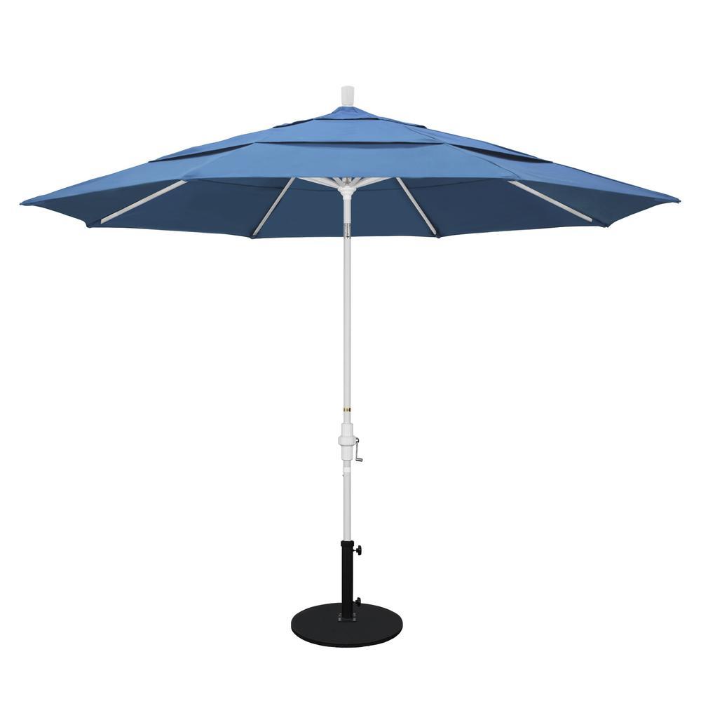 California Umbrella 11 Ft Aluminum Collar Tilt Double