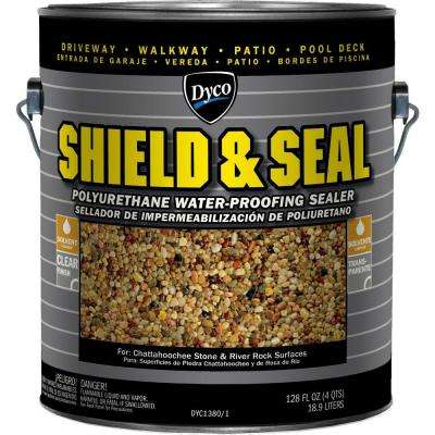 Shield and Seal 1 gal. 1380 Clear Polyurethane Waterproofing Sealer