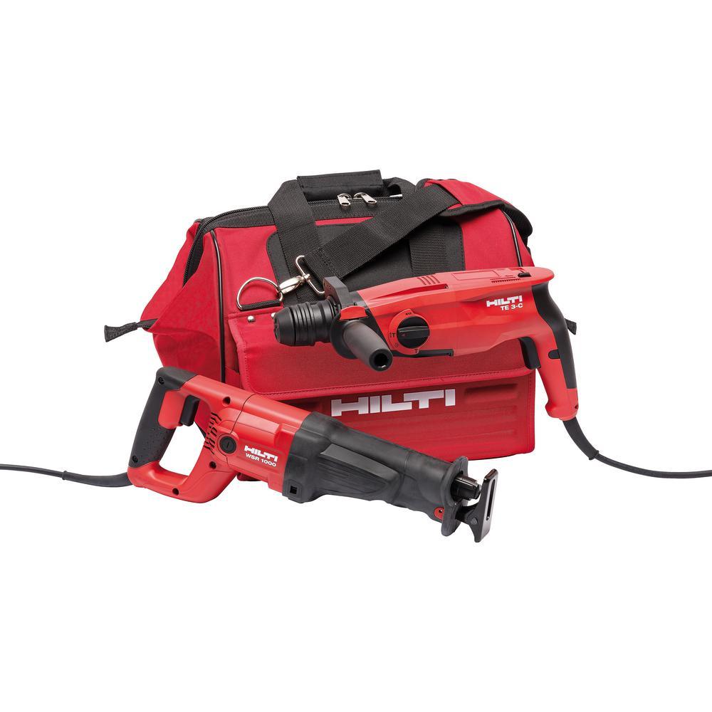 120-Volt Corded TE 3-C plus WSR 1000 Value Combo Kit