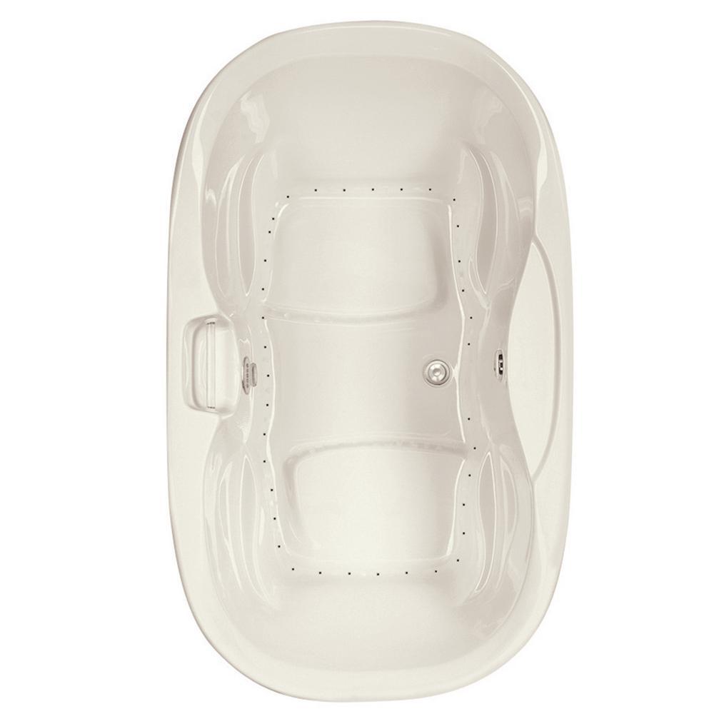 Serenity 2 - 6 ft. Center Drain Air Bath Tub in