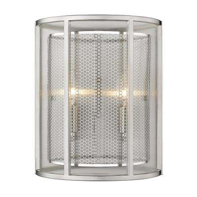 De Velde 5 in. Matte Nickel Sconce