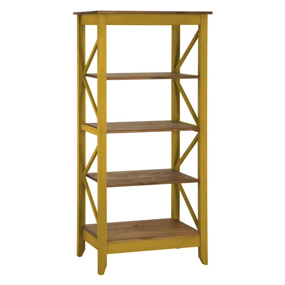 matte yellow with depot wash comfort shelves bookcases jay wood home bookcase manhattan solid in p