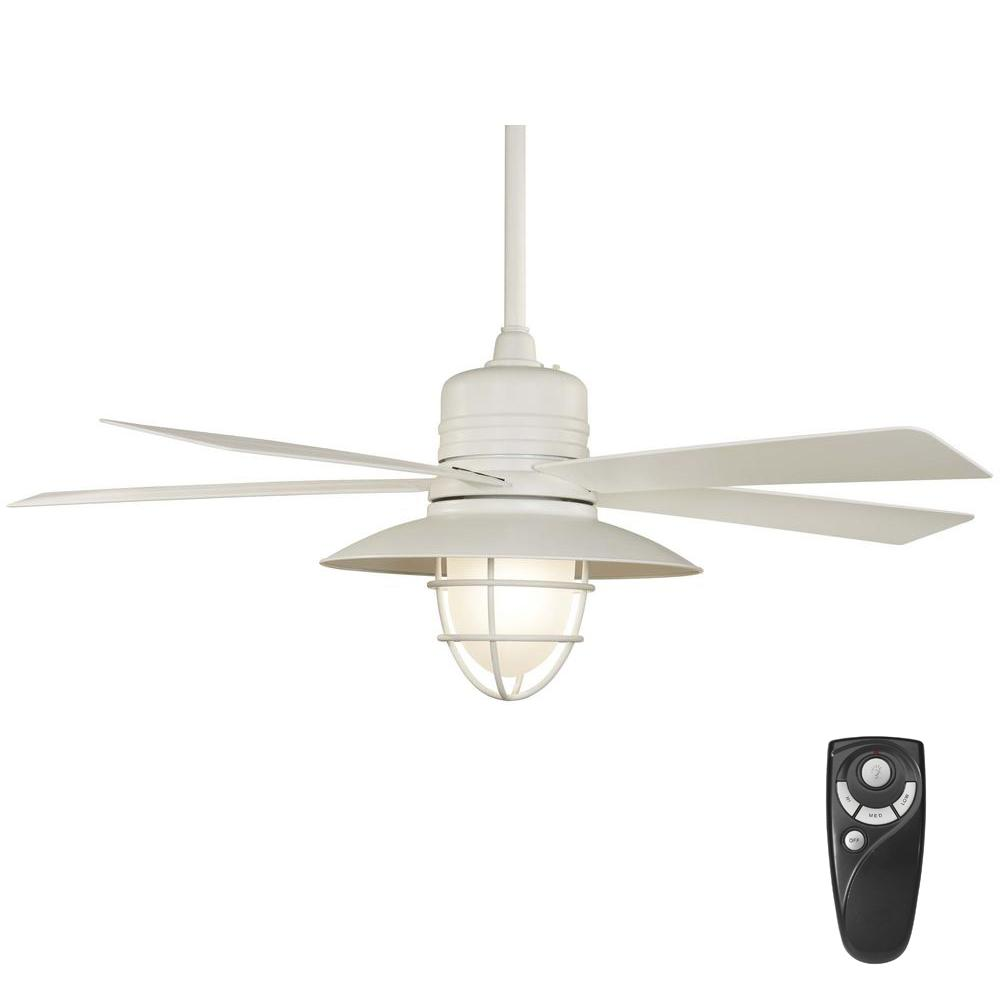 Home decorators collection grayton 54 in led indooroutdoor white home decorators collection grayton 54 in led indooroutdoor white ceiling fan with frosted aloadofball Images