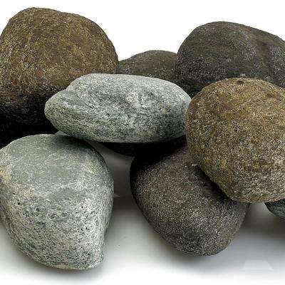 Natural Color Set Lite Stones - 15 Stone Set Includes 2 lbs. Small Lava Rock