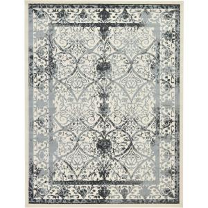 La Jolla Traditional Gray 10' 0 x 13' 0 Area Rug