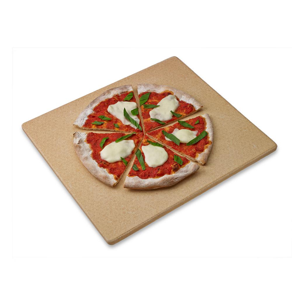 Rectangle Pizza Stones : Honey can do old stone oven rectangular pizza
