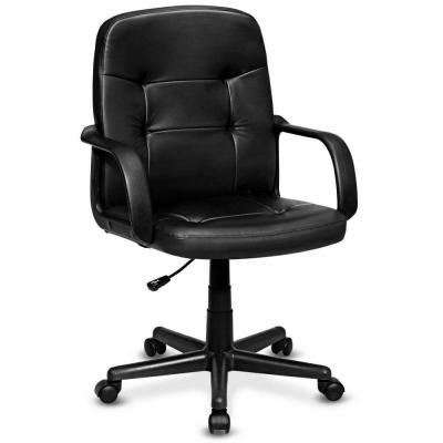 Ergonomic Black Mid-Back Executive Office Chair Swivel Computer Desk Task Chair New