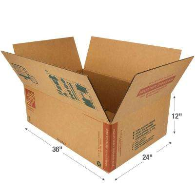 36 in. L x 24 in. W x 12 in. D Heavy Duty Long Storage Box