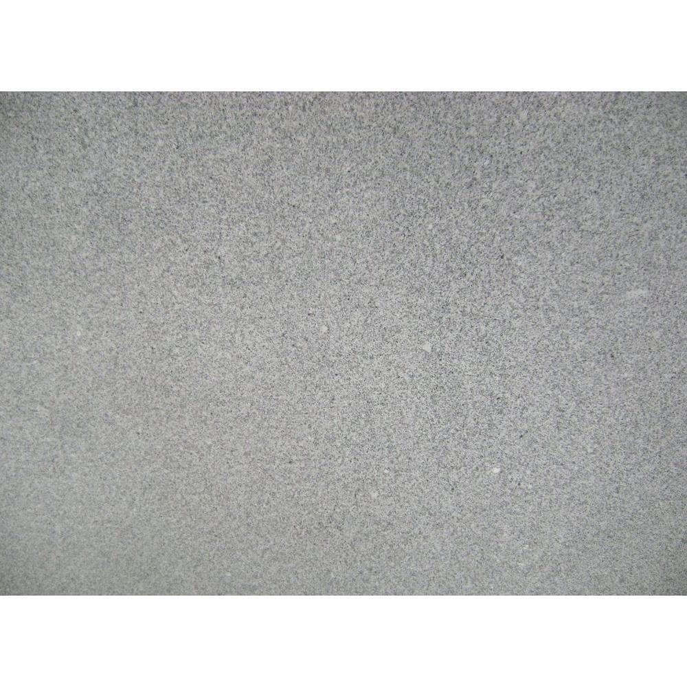 Stonemark Granite 3 in. x 3 in. Granite Countertop Sample in Meteorite White