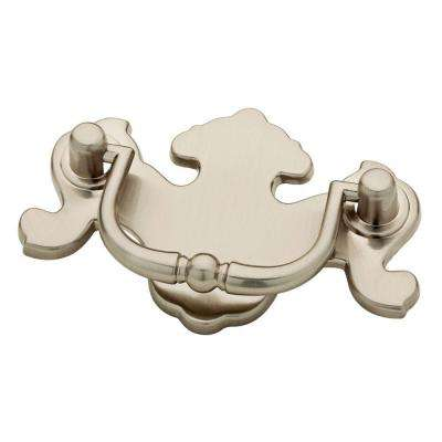 2-1/2 in. (64mm) Satin Nickel Traditional Bail Pull