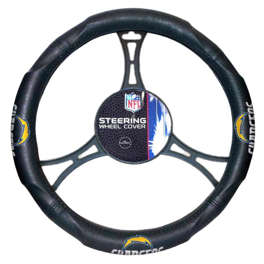 Chargers Car Steering Wheel Cover