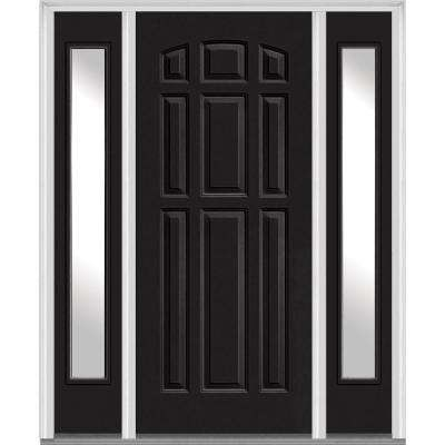 exterior doors for home. 9 Panel Painted Fiberglass Smooth Exterior Door with Doors  Front The Home Depot