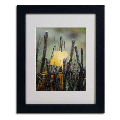 11 in. x 14 in. Prisoner Fall Matted Framed Art
