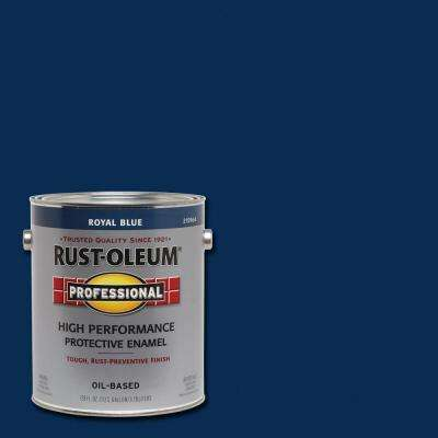1 gal. High Performance Protective Enamel Gloss Royal Blue Oil-Based Interior/Exterior Paint (2-Pack)
