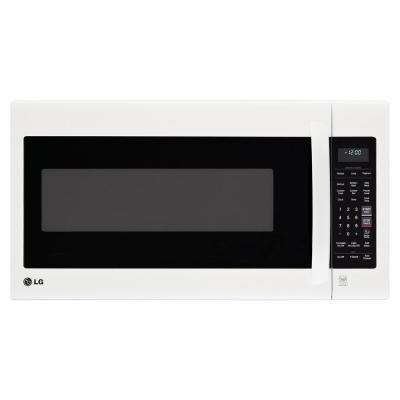 2.0 cu. ft. Over the Range Microwave in Smooth White with EasyClean