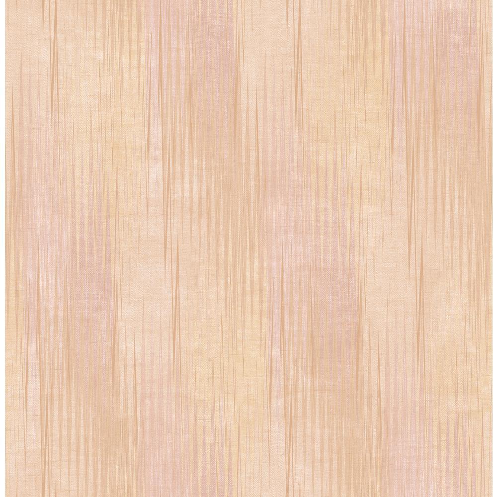 Colter Blush and Tan Flamestitch Wallpaper