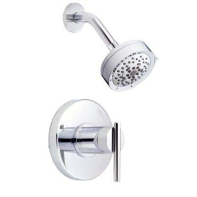 Parma Single-Handle Pressure Balance Shower Faucet Trim Kit in Chrome (Valve Not Included)