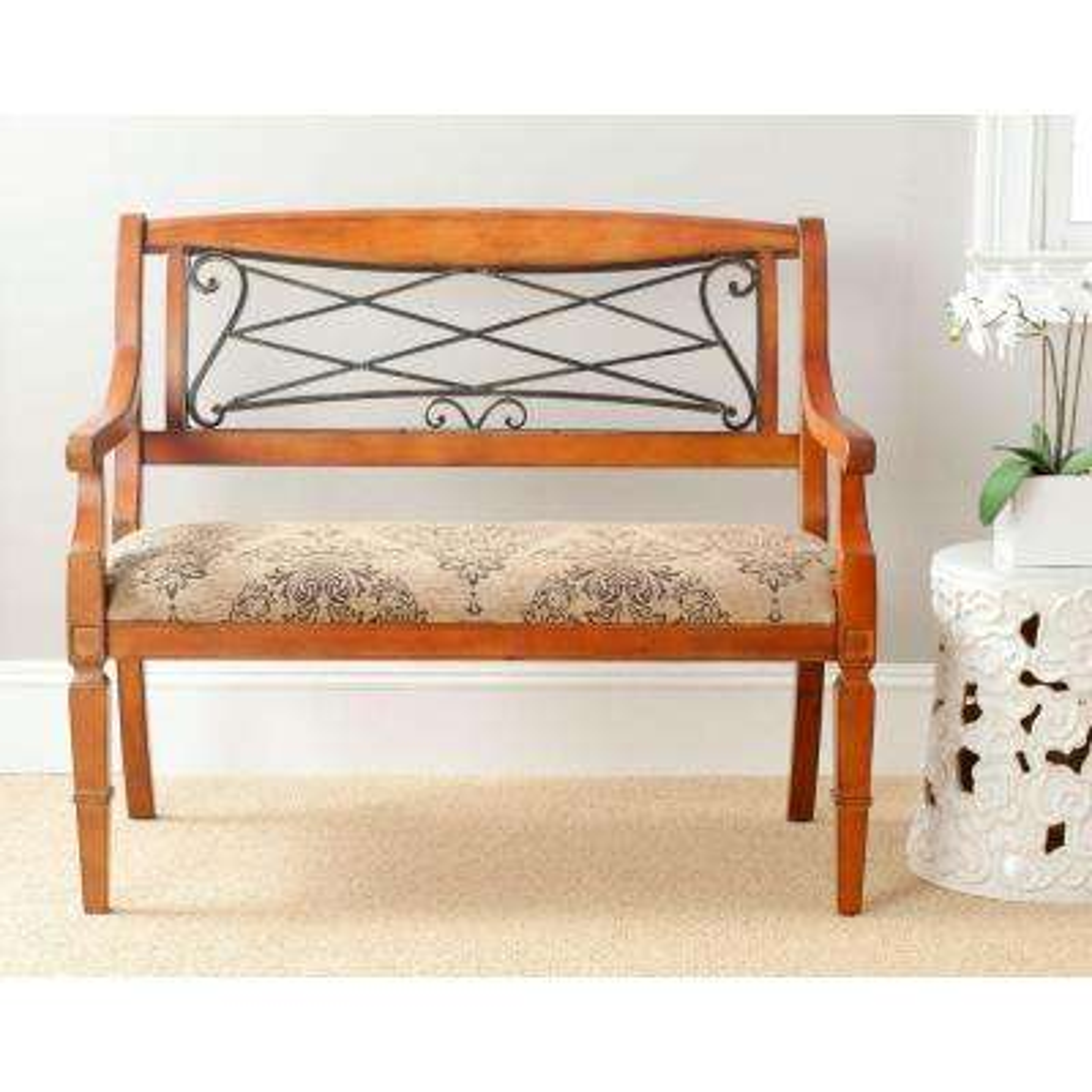 Gramercy Light Brown Bench