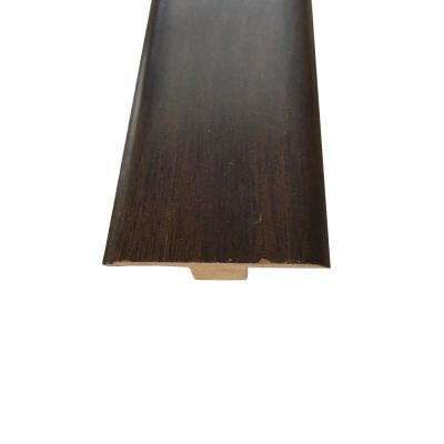 Chocolate Mocha Laminate T-Molding, 0.5 in. Thick x 1.75 in. Wide x 94.5 in. Length per Piece