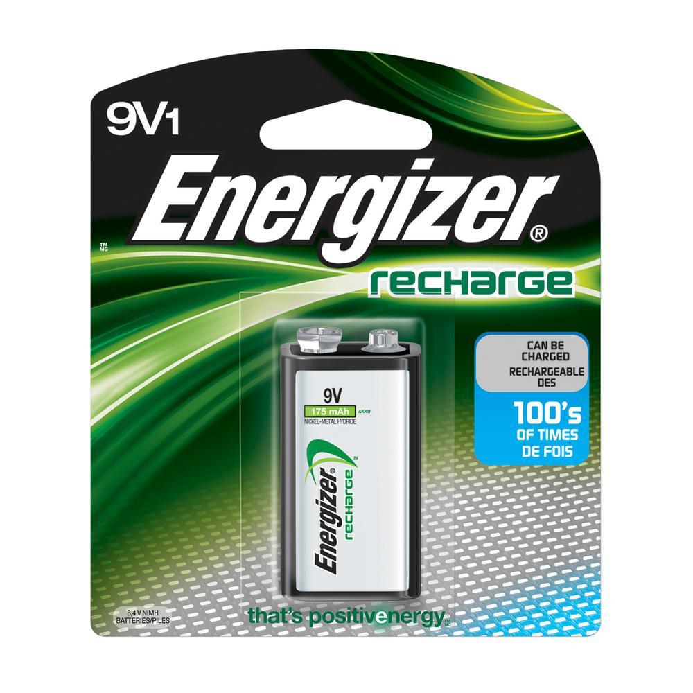 9-Volt Rechargeable Battery