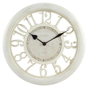 Equity by La Crosse 11-1/2 inch White Floating Dial Analog Wall Clock by Equity by La Crosse
