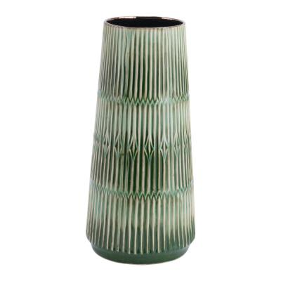 Green Nopal Medium Decorative Vase