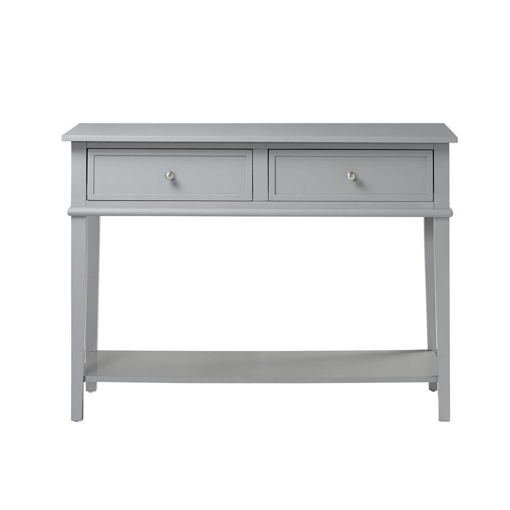 Queensbury Gray Sofa Table