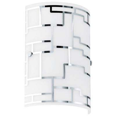 Bayman 1-Light Chrome Sconce