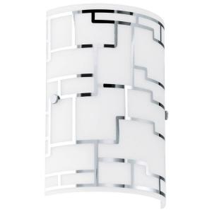 Bayman 1-Light Chrome Sconce by