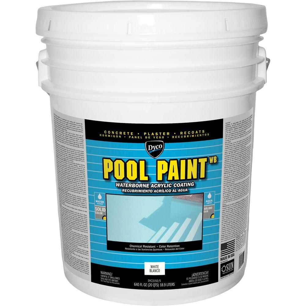 Pool Paint - Exterior Paint - The Home Depot