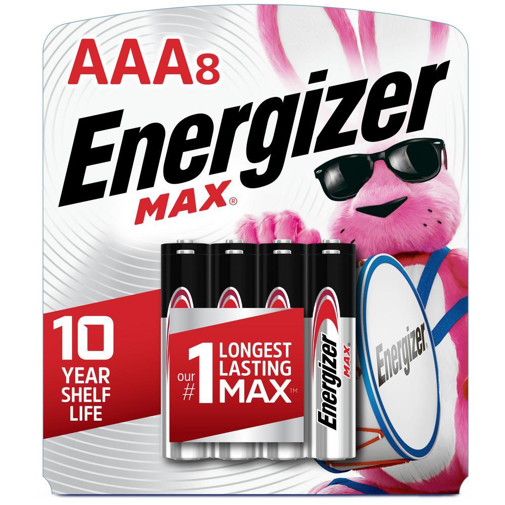 Alkaline AAA Battery 8 Pack