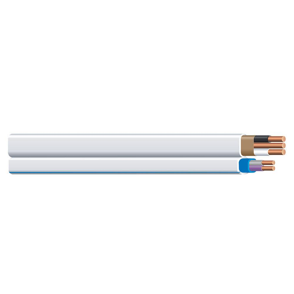 Southwire 200 ft. 14/2 White Solid Romex SIMpull NM-B-PCS Duo Cable
