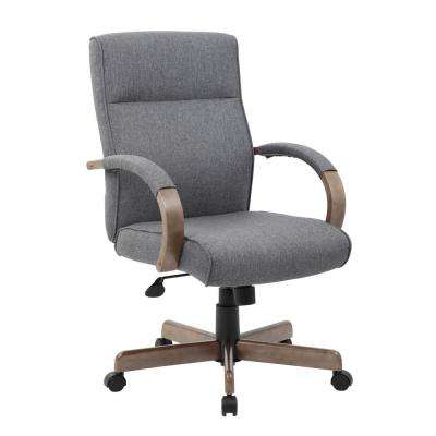 Slate Grey Conference Chair