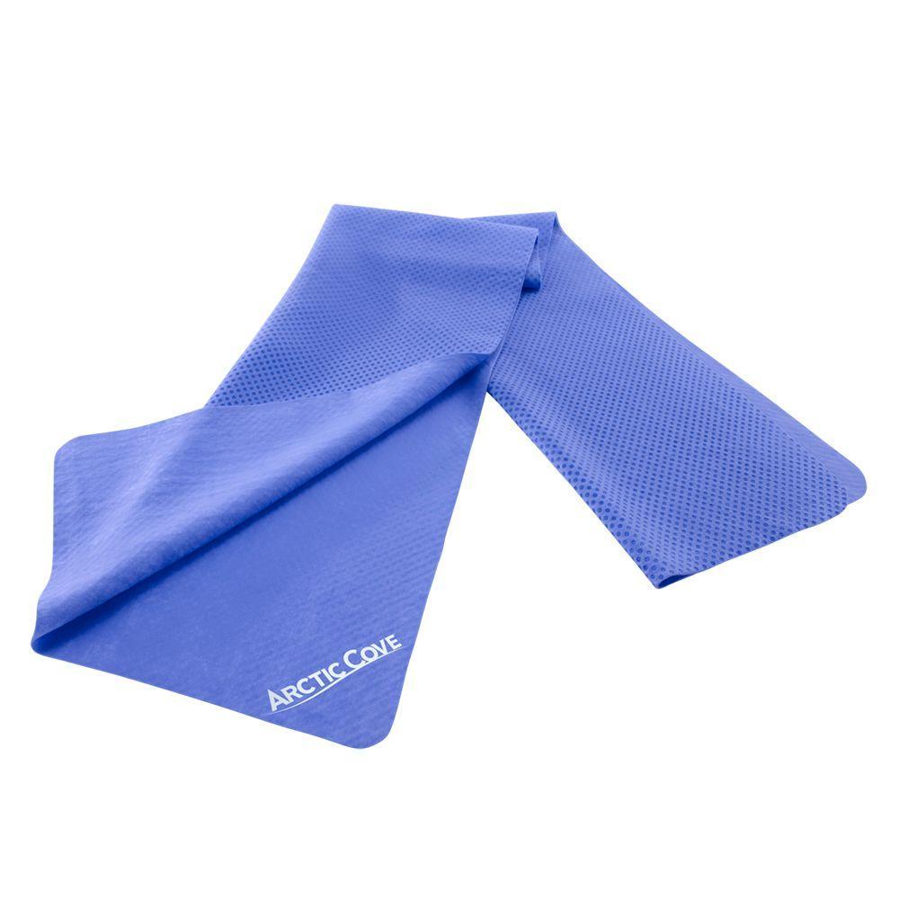 Arctic Cove Blue Cooling Towel