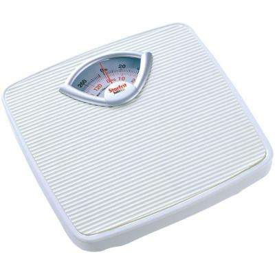 Mechanical Digital Scale in White