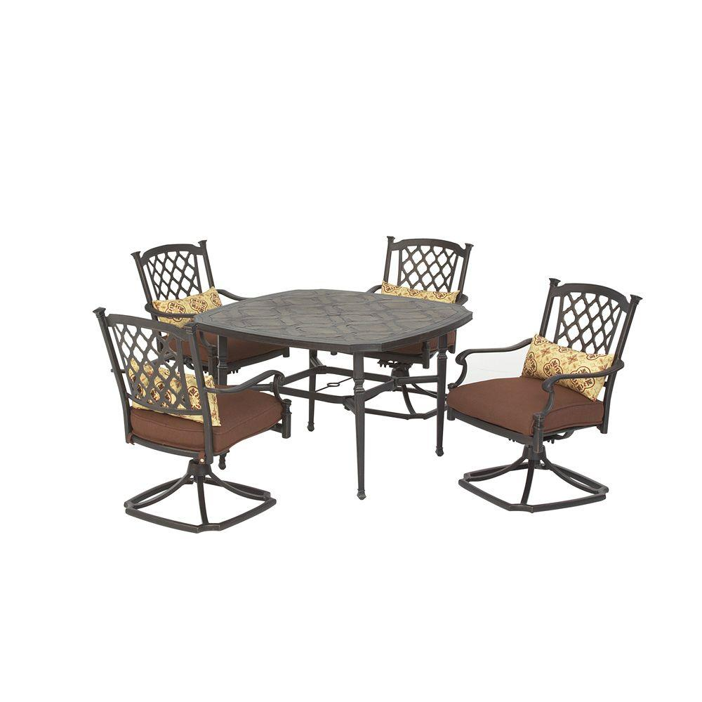 Martha Stewart Living Sea Bright Patio Dining Chairs (Set of 4)-DISCONTINUED