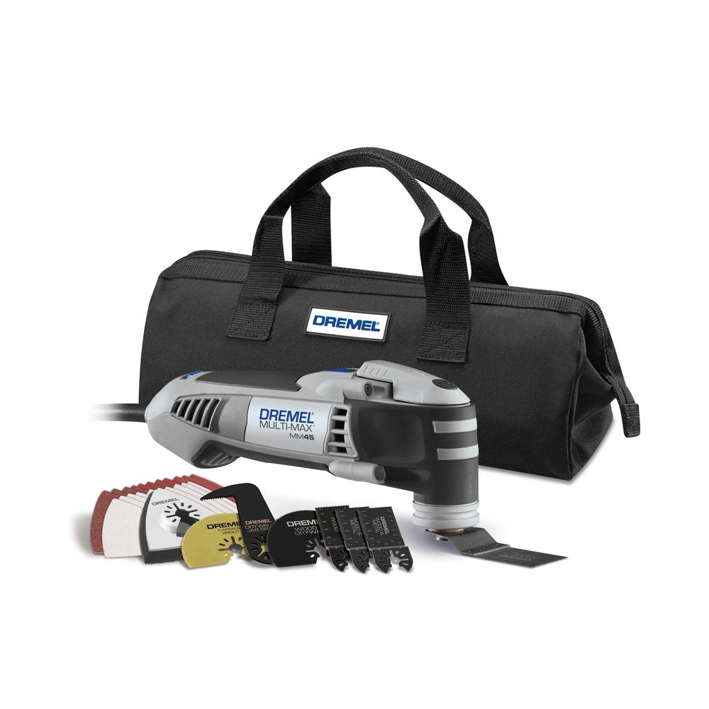 Dremel Multi Max 5 Amp Variable Speed Corded Oscillating Tool Kit With 28