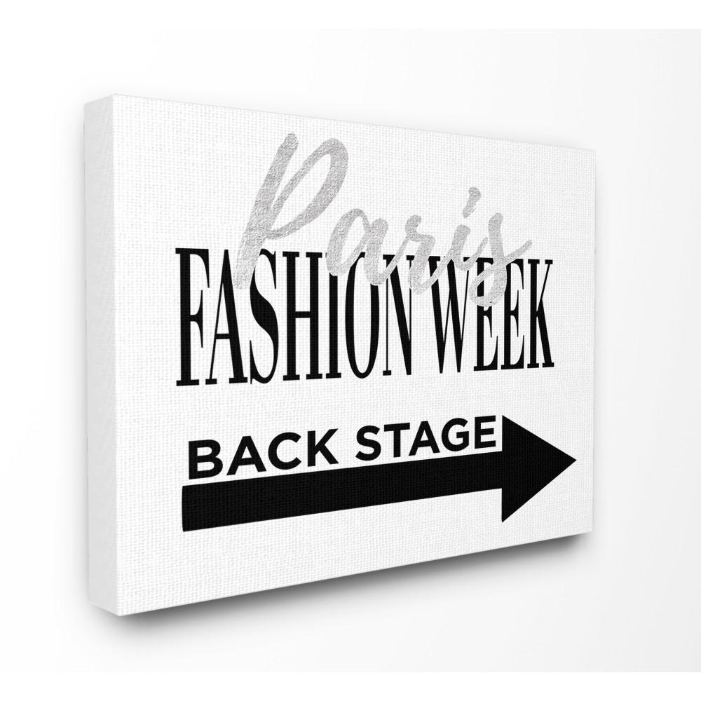 "30 in. x 40 in. ""Paris Fashion Week Backstage"" by Amanda Greenwood Printed Canvas Wall Art"